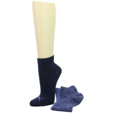 Sneaker Plain Socks 3-PACK blau