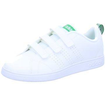adidas KlettschuhVS ADVANATAGE CLEAN weiß