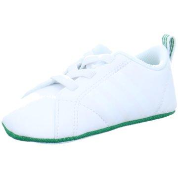 adidas KrabbelschuhVS Advantage Crib weiß