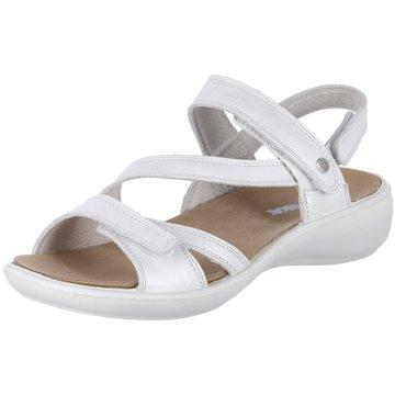 Westland Komfort Sandale weiß