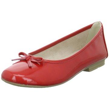 a+w Klassischer Ballerina rot
