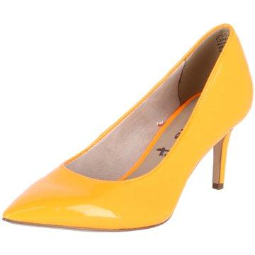 Tamaris Klassischer Pumps orange