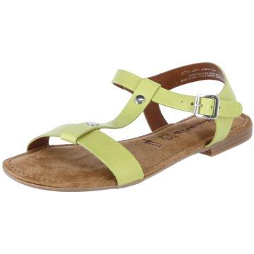 Tamaris Sandale grün