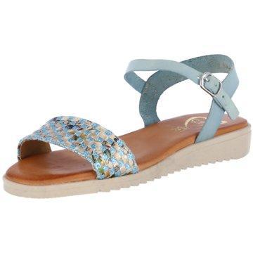 CDN Sandale blau