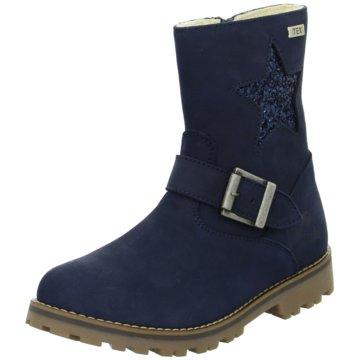 Lille Smuk Halbhoher Stiefel blau