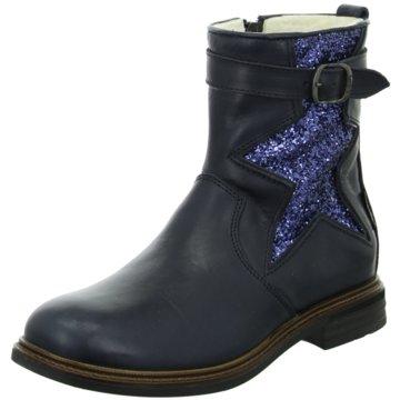 Lepi Halbhoher Stiefel blau