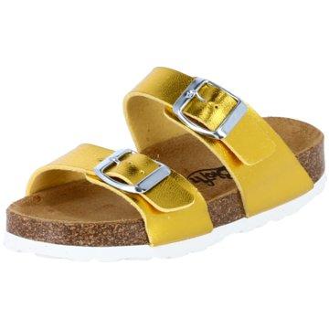 Biofit Offene Schuhe gelb