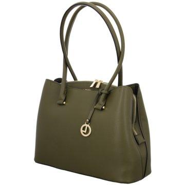 L.Credi Taschen Damen grün
