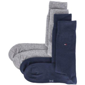 Stichd Socken grau