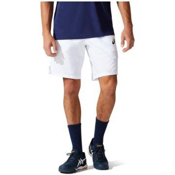 asics TennisshortsCOURT M 9IN SHORT - 2041A176-100 weiß