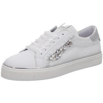 Alpe Woman Shoes Sneaker Low weiß