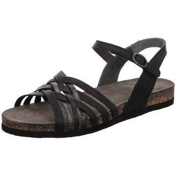 Think Sandale schwarz
