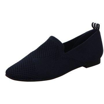 La Strada Klassischer Slipper blau