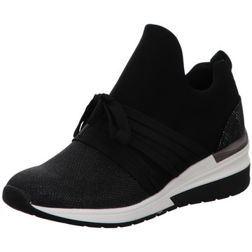La Strada SneakerLace up with Wedge schwarz