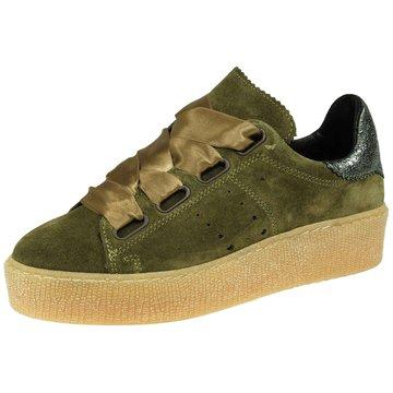 Tango Plateau Sneaker grün