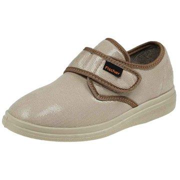 Fischer Schuhe Komfort Slipper beige