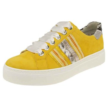 Semler Sportlicher Schnürschuh gelb