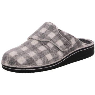 FinnComfort Hausschuh grau