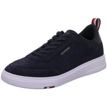 Tommy Hilfiger Sneaker LowModern Cupsole Perf Suede blau