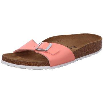 Birkenstock Klassische PantoletteMadrid BF Patent Coral Peach lachs