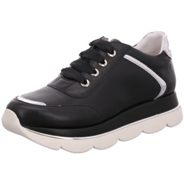 CAFèNOIR Plateau SneakerDB171 schwarz