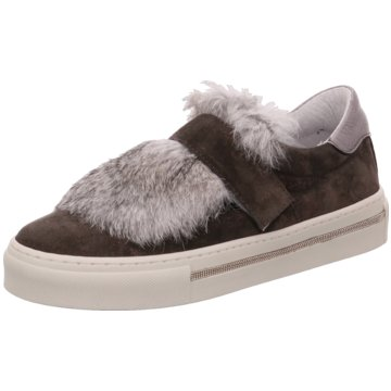 Alpe Woman Shoes Sportlicher SlipperIlena grau