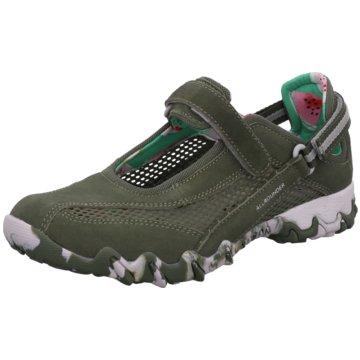 Allrounder Komfort SlipperSneaker grün
