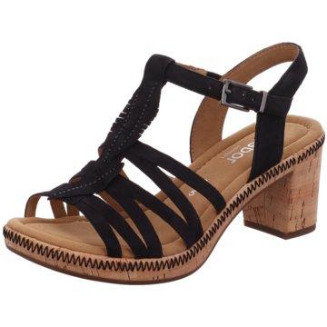 Gabor Sandale Damen schwarz Mit Paypal Bezahlen Rabatt Niedrigsten Preis Niedriger Preis 4qMwKt