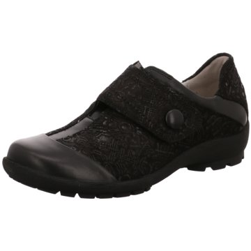 Waldläufer Komfort SlipperHolma schwarz