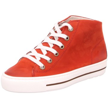 Paul Green Sneaker HighSuper Soft rot