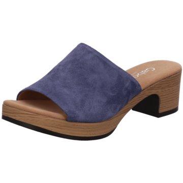 Gabor comfort Plateau Pantolette blau