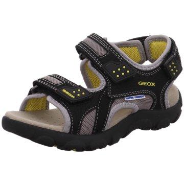 Geox Offene Schuhe schwarz