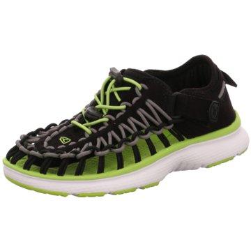 Keen Offene Schuhe schwarz