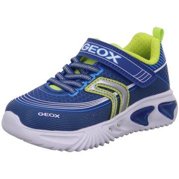 Geox Sportlicher SchnürschuhAssister Boy blau