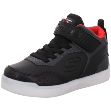 Skechers - -,black/red -