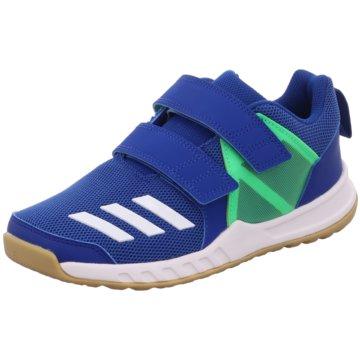 adidas KlettschuhFortaGym CF K blau