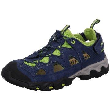 Meindl Offene Schuhe blau