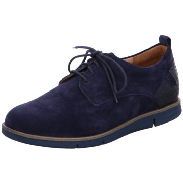Ganter Komfort Schnürschuh blau