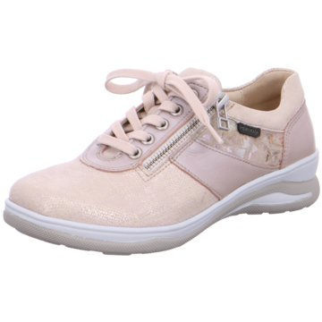 Fidelio Sportlicher Schnürschuh rosa