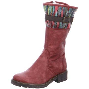 Jenny Komfort Stiefel rot
