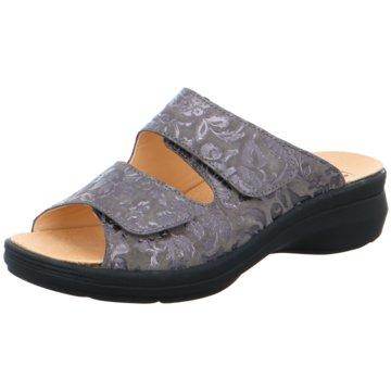 Ganter Komfort Pantolette grau