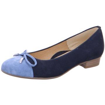 ara Eleganter Ballerina blau