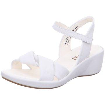 Think Komfort Sandale weiß