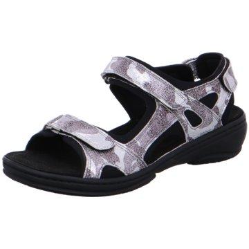 Fidelio Komfort Sandale silber