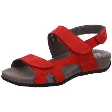 Mephisto Komfort Sandale rot