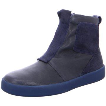 Think Komfort Stiefel blau