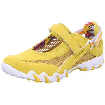 Allrounder Komfort SlipperSneaker gelb