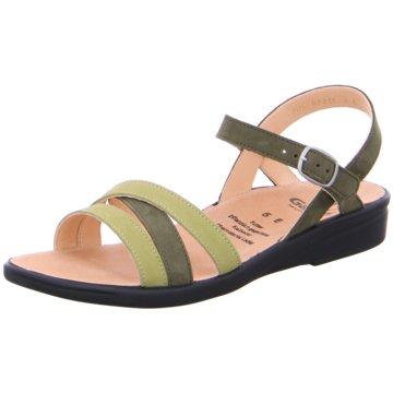 Ganter Komfort Sandale grün