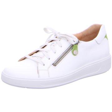 Ganter Sportlicher Schnürschuh weiß
