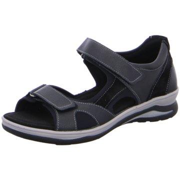 Fidelio Komfort Sandale schwarz